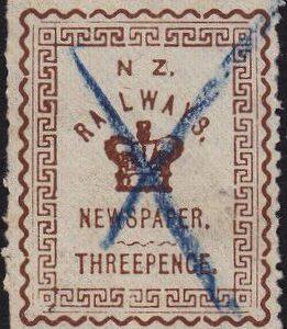 3d Brown Railways Newspaper