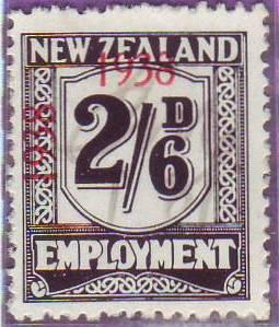 1938 - 39 Employment 2/6 Black