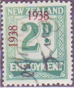 1938 - 39 Employment 2d Green