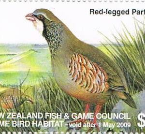 2008 Red-Legged Partridge
