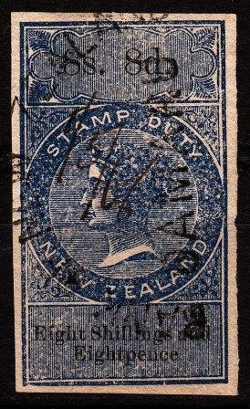 8/8 Blue & Black (Imperf)