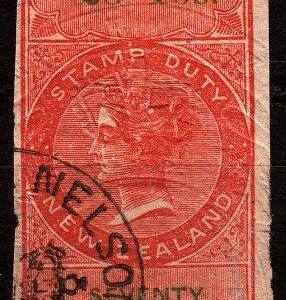 3 Pounds 10/- Orange-Red & Green (Imperf)
