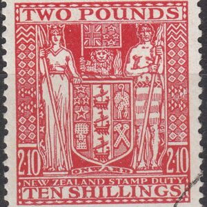 2 Pounds 10/- Red