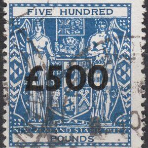 500 Pounds Blue