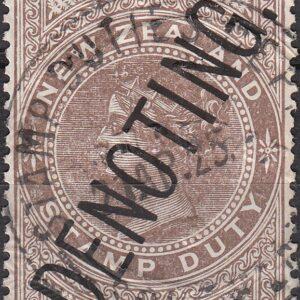 1924 Queen Victoria Longtype