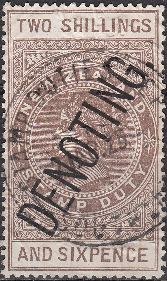 Denoting - 2/6 Brown QV Longtype