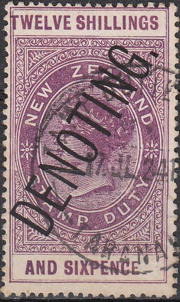 Denoting - 12/6 Plum QV Longtype