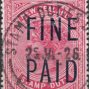 QVLT 1 Pound Pink (Black Overprint)