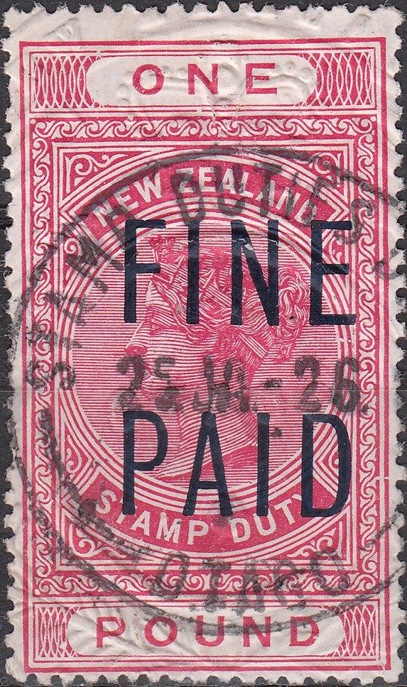 QVLT 1 Pound Pink (Black Overprint)
