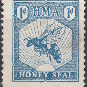 1d Blue (Inscribed HMA)