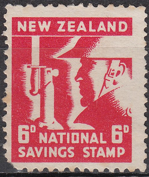 National Savings - 6d Red
