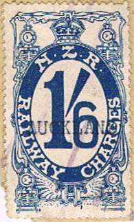 1/6 Dark Blue Railways Charge