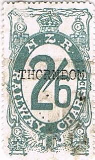 2/6 Grey Railways Charge