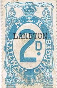 2d Blue Railways Charge