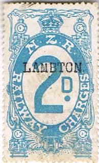 2d Blue Railways Charge
