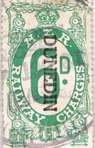 6d Green Railways Charge