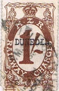 1/- Brown Railways Charge