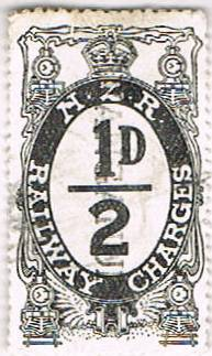1/2d Black Railways Charge