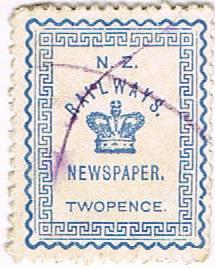 2d Blue Railways Newspaper