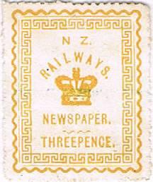 3d Yellow Railways Newspaper