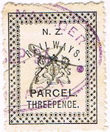 c1890 Railways Parcel