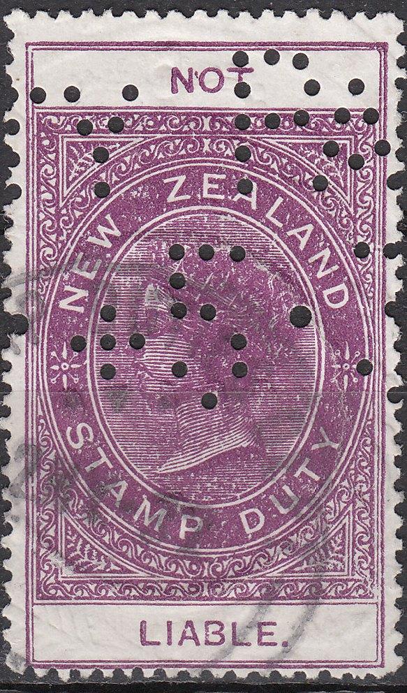 Not Liable - 1881 QV Longtype No Value Violet