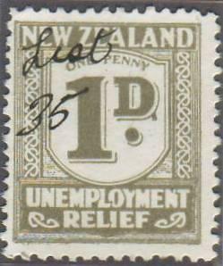 1934 - 35 Unemployment Relief