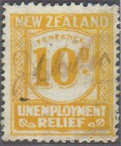 1934 - 5 UR 10d Yellow