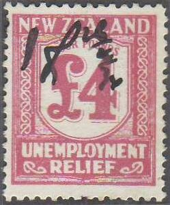 1934 - 35 UR 4 Pounds Pink