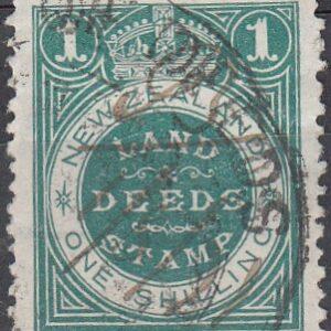 1/- Green (21 x 25mm)