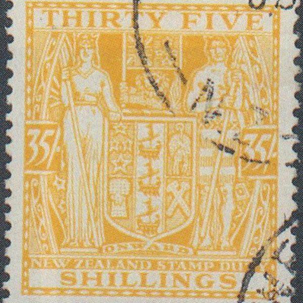 35/- Orange-Yellow