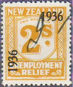 1936 UR o/p 2/- Yellow