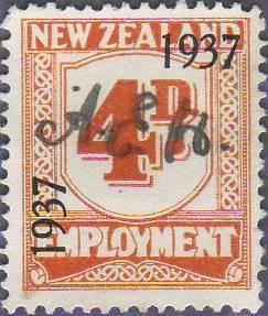 1937 Employment 4d Orange