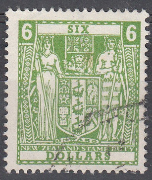 $6 Green Decimal Arms